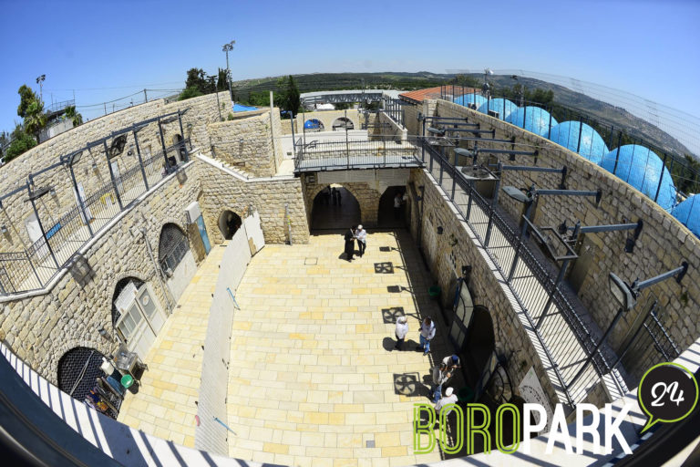 Kever of Rabi Shimon bar Yochai Closed, First Time in Memory